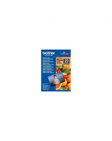 PAPEL BROTHER GLOSSY 10X15 260 GR BP71GP20