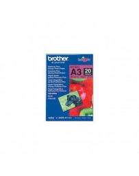 PAPEL BROTHER GLOSSY A3 (20 H) 260 GR BP71GA3