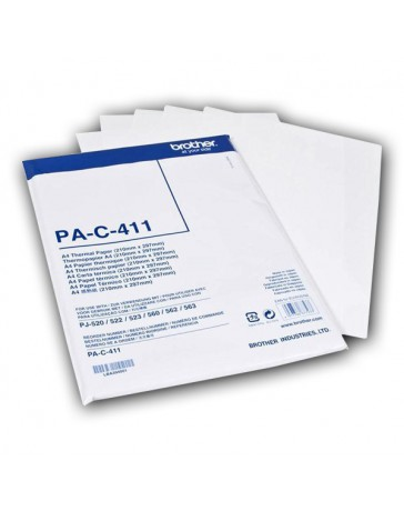 PAPEL TERMICO BROTHER A4 100 HOJAS PAC411