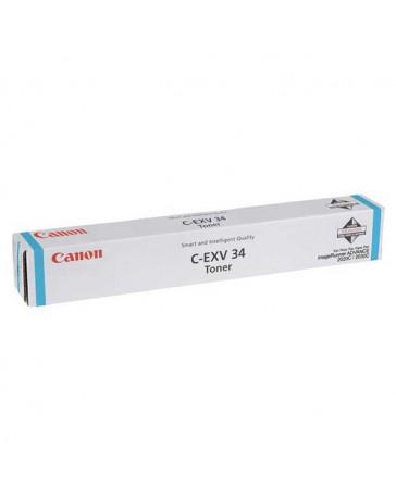 TONER CANON ORIG. CEXV34 CYAN 19.000 PAG