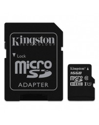 MICRO SDHC KINGSTON 16GB CLASE 10