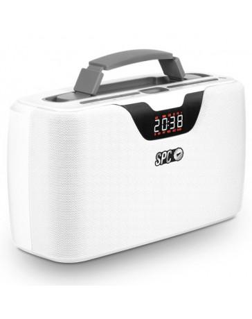 REPRODUCTOR USB Y MSD SPC STORM BOOMBOX BLANCO 4503B