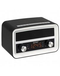 RADIO DESPERTADOR DENVER CRB-619 BLACK MK2 ALARMA FM
