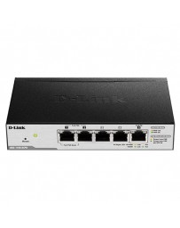 SWITCH D-LINK 5 PORT GIGABIT POE SMART WITH 1 PD