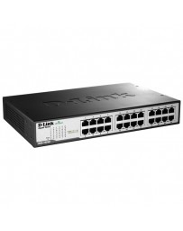 SWITCH D-LINK 24 PORT COOPER GIGABIT ETHERNET DESK/RACKMOUNT