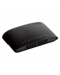 SWITCH D-LINK 8 PORT 10/100 FAST ETHERNET DES-1008D