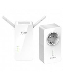 POWER LINE D-LINK AV2 1000 WIFI DHP-W611AV PACK 2