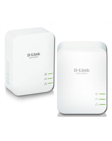 POWER LINE D-LINK AV2 1000 HD GIGABIT DHP-601AV PACK 2