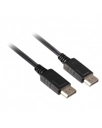CABLE DISPLAYPORT A DISPLAYPORT M/M 1,8 MTR.