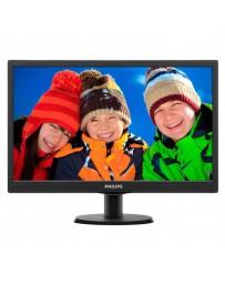 "MONITOR LED PHILIPS 193V5LSB2 18.5"" VGA SMART CONTROL LITE N"