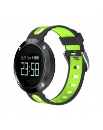 RELOJ BILLOW SPORT HR BLUETOOH 4.0 BLACK/GREEN XS30BGP