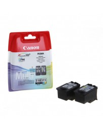 INK JET CANON ORIG. PG-510/CL-511 PACK 2 BLISTER