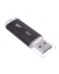 PENDRIVE SILICON POWER 16GB USB2.0 BLACK U02
