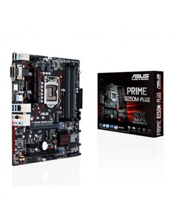 PLACA ASUS PRIME B250M-PLUS 1151/DDR4/VGA/HDMI/DVI