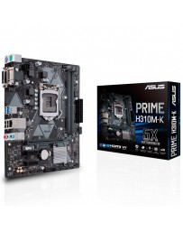 PLACA BASE ASUS PRIME H310M-K 1151 DDR4 16MB*