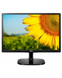 "MONITOR LG LED 19.5"" 20MP38HQ-B 5MS VGA HDMI NEGRO MATE*"