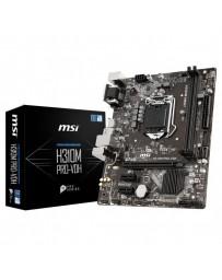 PLACA BASE MSI H310M PRO-VDH LGA1151 2XDDR4 HDMI VGA M-ATX