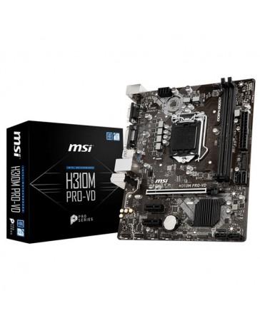 PLACA BASE MSI H310M PRO-VD LGA1151 2XDDR4 VGA