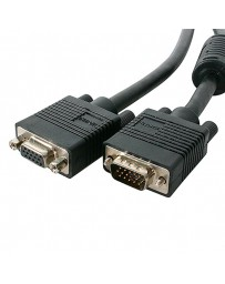 CABLE MONITOR VGA HD-15 M/M 3+7C. 30M NEGRO
