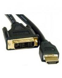 ADAPTADOR HDMI-A A DVI-D AK639-3 3 MTRS