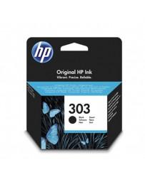 INK JET HP ORIG. T6N02AE Nº303 NEGRO 200 PAG.
