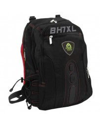 MALETIN KEEP OUT MOCHILA BK7RXL NEGRO/ROJA HASTA 17""