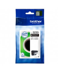 INK JET BROTHER ORIG LC3233BK DCPJ1100DW/MFCJ1300DW
