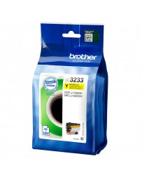 INK JET BROTHER ORIG LC3233Y DCPJ1100DW/MFCJ1300DW