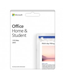 SOFT.MICROSOFT OFFICE 2019 HOME&STUDENT 1LIC