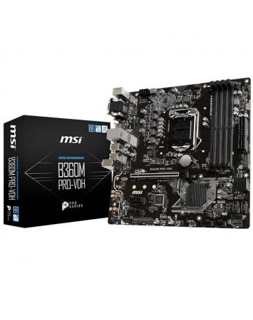 PLACA BASE AMD MSI B360M PRO-VDH MATX/DDR4