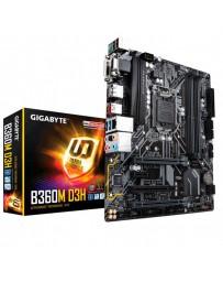 PLACA BASE GIGABYTE B360M D3H 1151/VGA/DVI/HDMI MATX