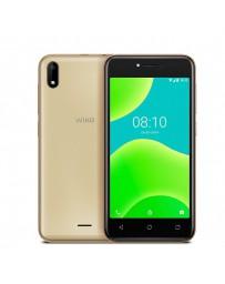 "TELEFONO SMART WIKO Y50 5"" QC1,3 16GB/1GB GOLD + CARCASA"