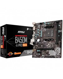 PLACA BASE AMD MSI B450M-A PRO-MAX AM4