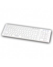 TECLADO HAVIT HV-K822P BLANCO USB SLIM