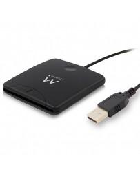 LECTOR DE TARJETAS DNI EWENT EXTERNO NEGRO USB 2.0 EW1052