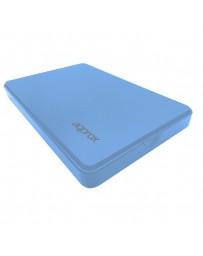 """CAJA EXT.APPROX HDD SATA2.5"""" AZUL APPHDD300LB USB3.0"""
