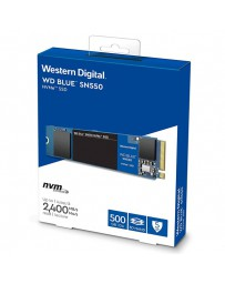 DISCO SOLIDO SSD WESTERN DIGITAL NVME 500GB SATA 3 M.2 BLUE