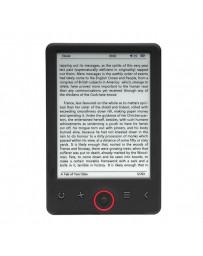 """E-BOOK DENVER 6"""" E-INK PANEL & DISPL4GB MICRO USB EBO-635L"""