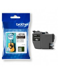 INK JET BROTHER ORIG LC421XLBK HASTA 500 PAG.