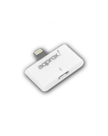 ADAPTADOR APPROX LIGHTNING A MICRO USB APPC01/V2*