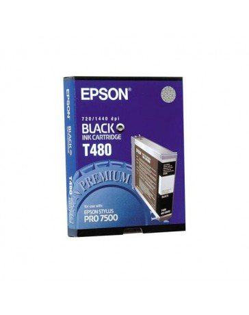 INK JET EPSON ORIGINAL C13T480011 NEGRO