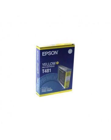 INK JET EPSON ORIGINAL C13T481011 AMARILLO