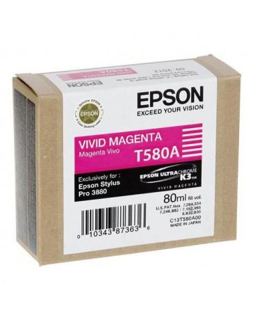 INK JET EPSON ORIGINAL C13T580A00 MAGENTA VIV