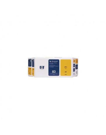 INK JET HP ORIG. C5003A Nº83 KIT AMARILLO
