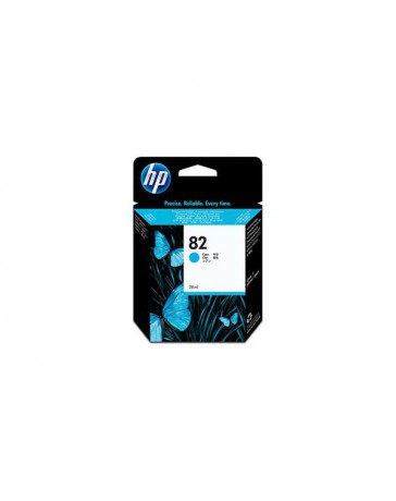 INK JET HP ORIG. CH566A Nº82 CYAN 28ML