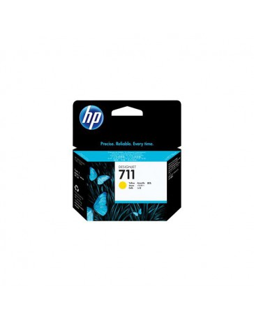 INK JET HP ORIG. CZ132A Nº711 AMARILLO 29ML