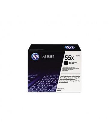 TONER HP ORIG. CE255X NEGRO 12.500 PAG.