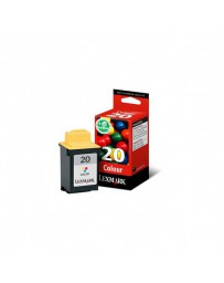 INK JET LEXMARK ORIG.15MX120 Z51 COLOR Nº20