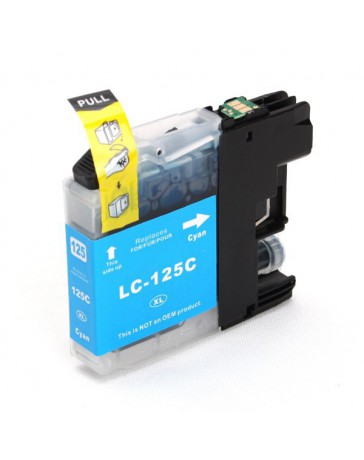INK JET COMP BROTHER LC125C CYAN