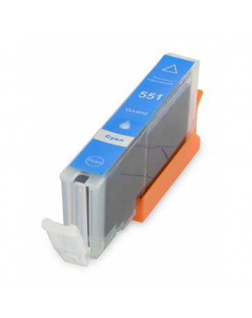 INK JET COMPATIBLE CANON CLI551CXL CYAN